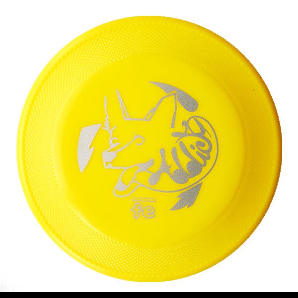 Addict Dogfrisbee van Frisbeescape Hondenfrisbee Yellow