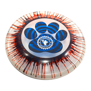 Super Hero 235 Ice Dye Paw Circle stamp