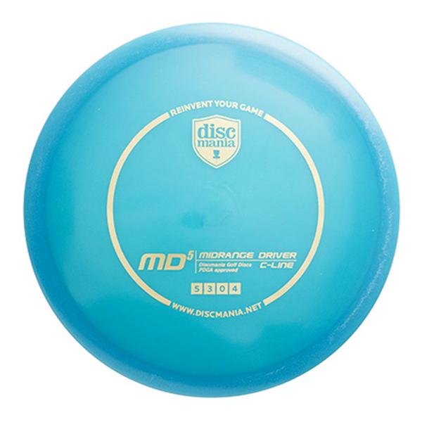 Discmania C Line MD5 small diameter disc golf midrange frisbee
