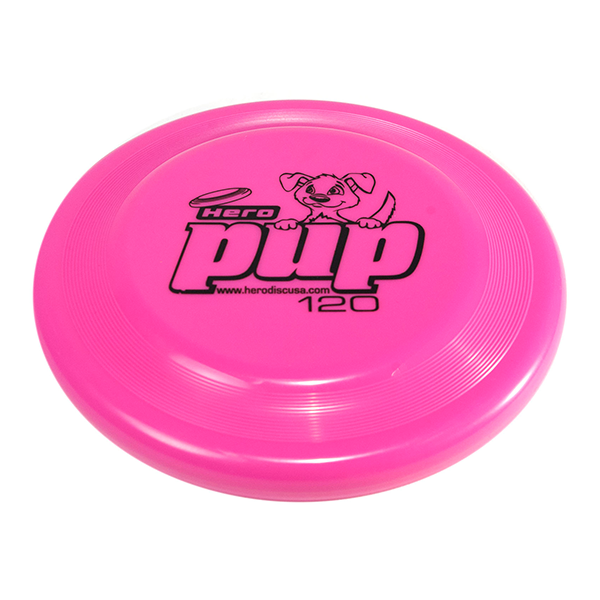 Hero pup pink Buy a dogfrisbee for small dogs kleine hondenfrisbee voor kleine hond