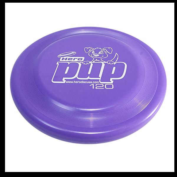 Hero pup purple Buy a dogfrisbee for small dogs kleine hondenfrisbee voor kleine hond