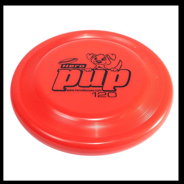 Hero pup red buy a dogfrisbee for small dogs kleine hondenfrisbee voor kleine hond
