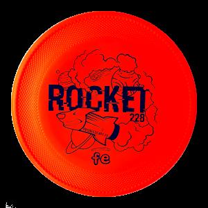 Rocket Dogfrisbee Frisbeescape Hondenfrisbee red goede frisbee voor de kinderen
