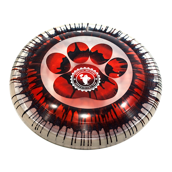 Super Hero 235 Ice Dye Paw Circle stamp dogfrisbee