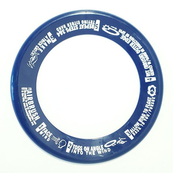 Wham-O Whizz Ring blauw