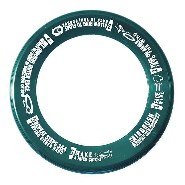 Wham-O Whizz Ring groen