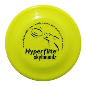 Hyperflite Fastback honden frisbee geel