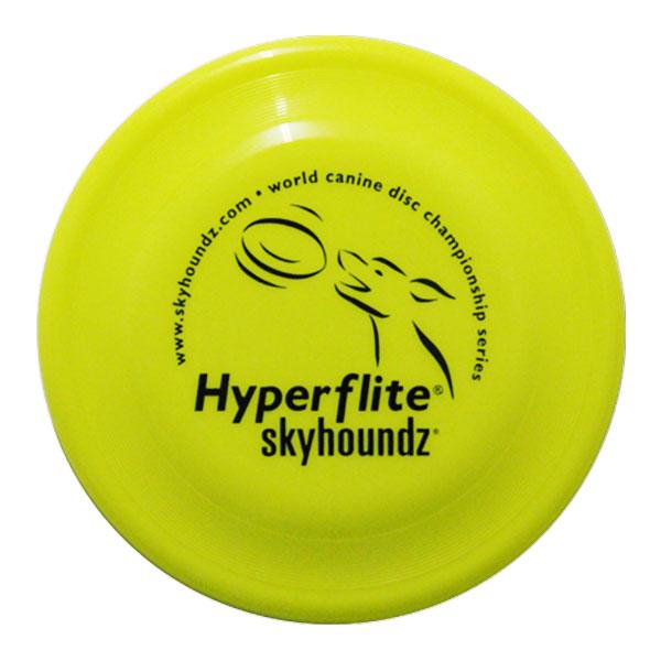 Hyperflite Fastback honden frisbee yellow