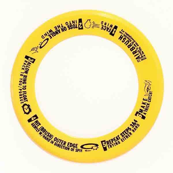 Wham-O Whizz Ring geel