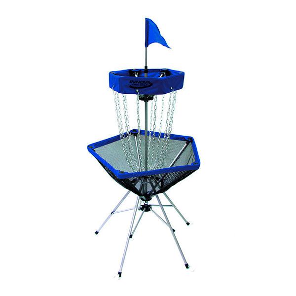 DISCatcher® Traveler Frisbeegolf doel blauw