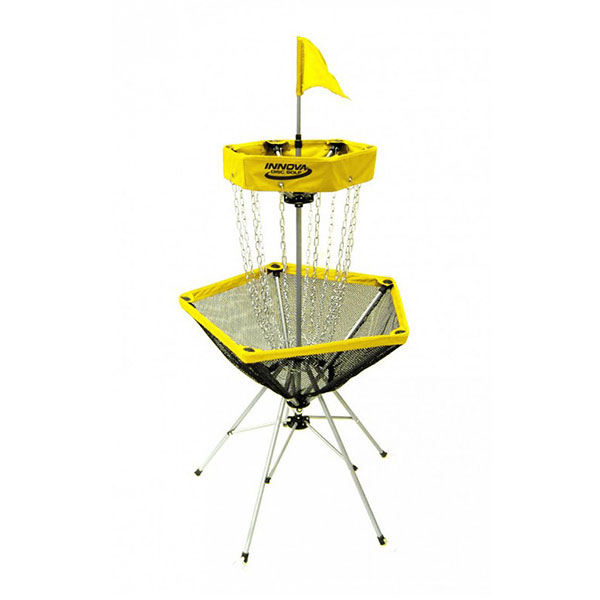 DISCatcher® Traveler Frisbeegolf doel geel