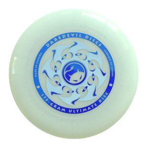 Daredevil wedstrijdfrisbee glow classic blue