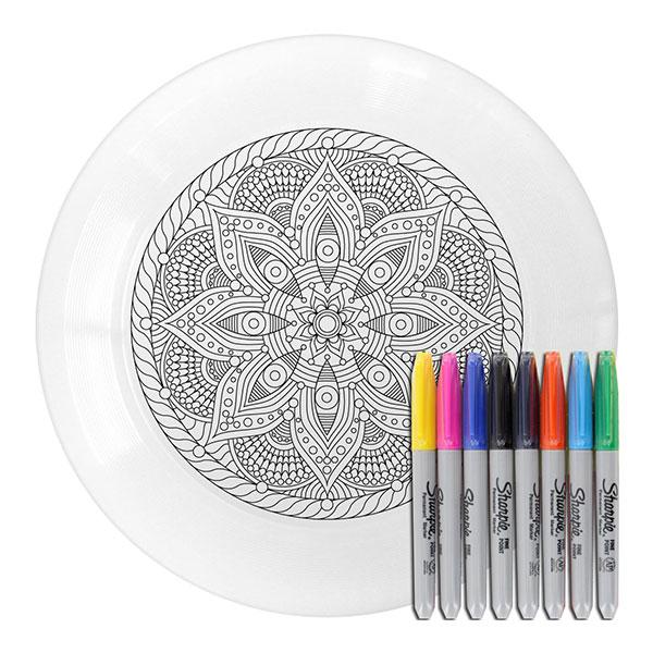 Mandala ultimate frisbee competition disc