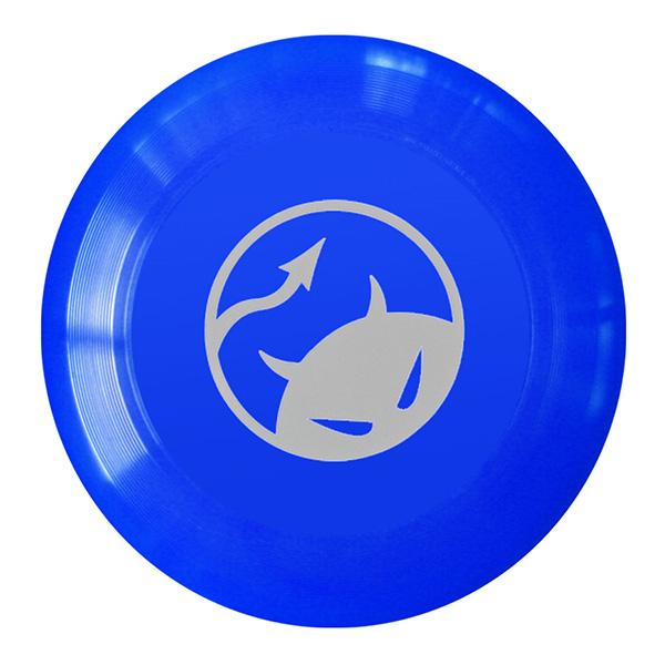 Daredevil wedstrijdfrisbee logo blauw/wit