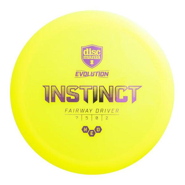 Discmania Evolution Neo Instinct fairway driver geel