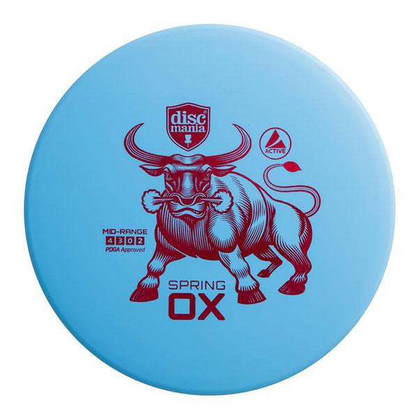 Discmania midrange disc Spring Ox blue