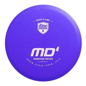 Discmania Stiff P-Line MD4 midrange disc