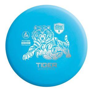 Discmania Tiger Warrior Putter blue