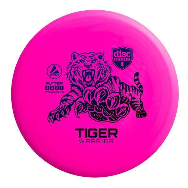 Discmania Tiger Warrior Putter roze