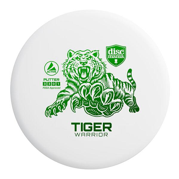 Discmania Tiger Warrior Putter wit