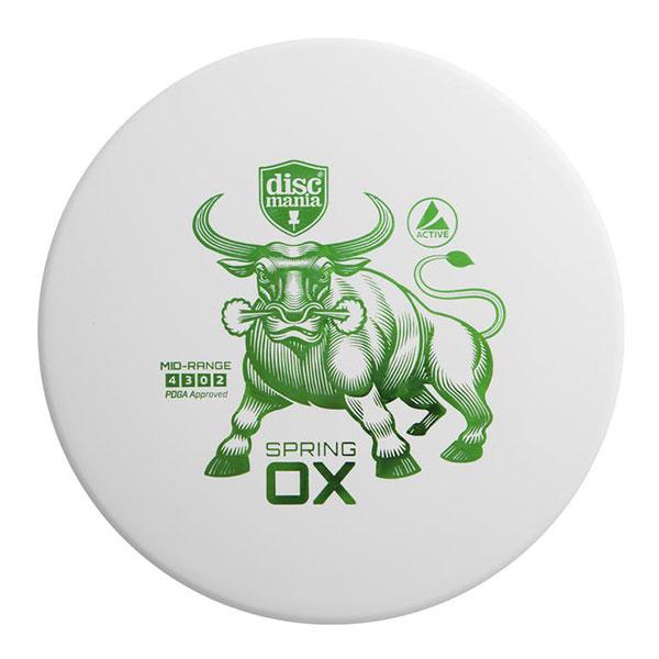Discmania midrange disc Spring Ox white