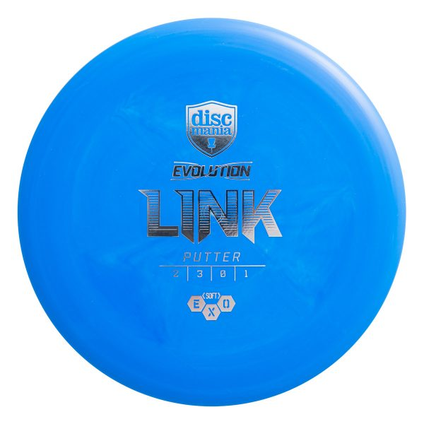 Discmania Soft Exo Link Putter Blue