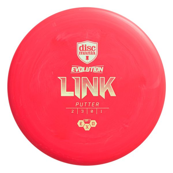 Discmania Soft Exo Link Putter Red
