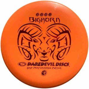Daredevil_bighorn_Disc_Golf_Frisbee_Putter_voor_beginners-orange