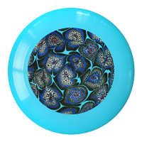 Marble Kim Ouweleen Custom design frisbee art Sky Swirl