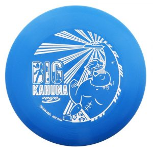 Zwaargewicht frisbee big Kahuna Dude Zalm blauw frisbee