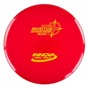 star_invictus_overstable distance driver red