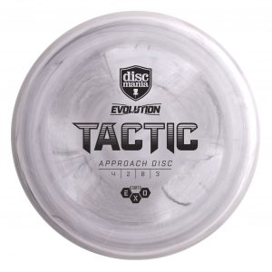 Soft Exo Tactic Very Overstable Midrange Disc grey