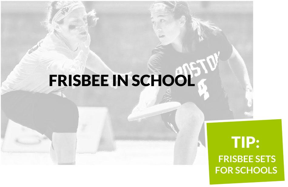 Frisbee in School