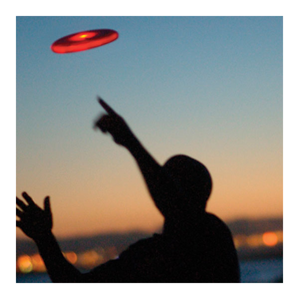 Flashflight lichtgevende frisbee