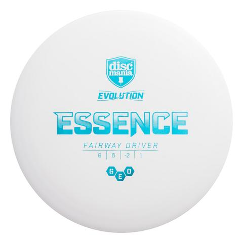 Discmania Essence Geo Evolution Plastic White Buy Frisbee for Disc Golf Disc Kopen Kleur Wit Fairway Driver