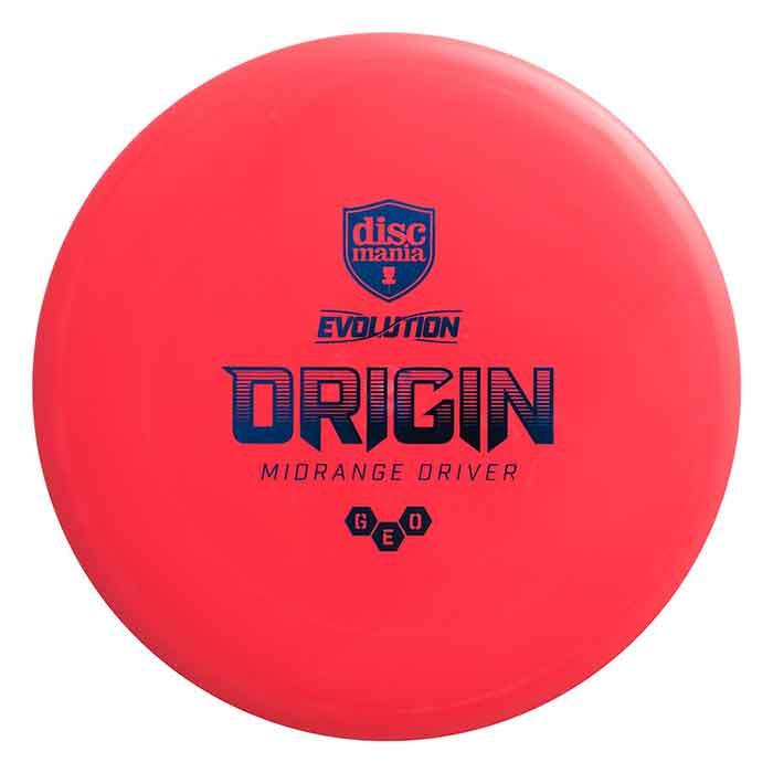 Discmania Evolution Geo Origin Midrange Driver Red Buy Disc Golf Frisbee Discgolf Schijf Kopen Rood Frisbeewinkel