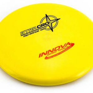 Innova Star Cro Midrange Yellow Disc Golf Frisbee For Short DIstance Frisbeewinkel Kopen Gele Schijf voor Korte Afstand Premium Plastic