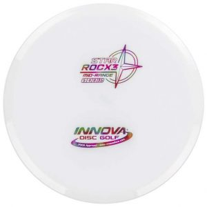 Innova Star RocX3 Midrange Extra Sturdy Roc White Buy Disc Golf Frisbee Straight Flight Reliable Frisbeewinkel Kopen Witte Schijf Discgolf