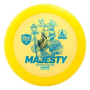 Majesty-Discmania-Active-Premium-Plastic-Royal-Distance-Driver-with-Glide-for-Advance-Players-Buy-Disc-Golf-Disc-Discgolf-Schijf-Frisbee-Kopen-Geel