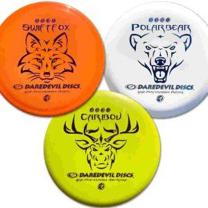 Beginners set disc golf daredevil discs