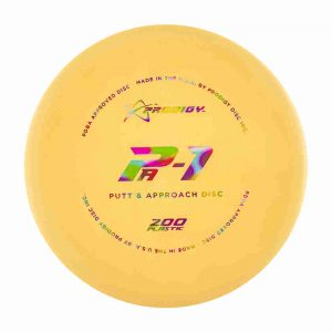 prodigy PA1 standard putter for beginners yellow