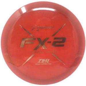 Prodigy 750 plastic FX-2 Fairway Driver voor Disc Golf red